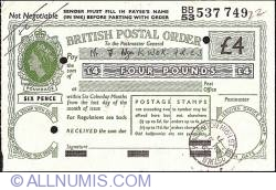 Image #1 of 4 Pounds 1962 (15th. of November)