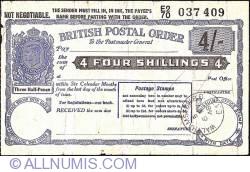 Imaginea #1 a 4 Shillings 1948 (6 mai)