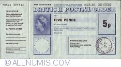 Imaginea #1 a 5 Pence 1975 (23 decembrie)