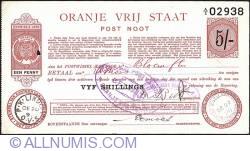 Imaginea #1 a 5 Shillings 1898