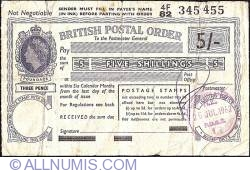 Image #1 of 5 Shillings 1962 (25th. of July).
