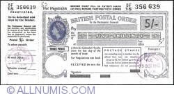 Image #1 of 5 Shillings 1962 (29th. of October).