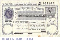 Image #1 of 5 Shillings 1963 (29th. of March 1963).
