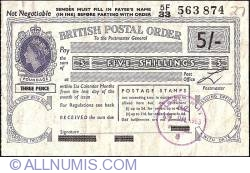 Image #1 of 5 Shillings 1963 (4th. of July).