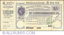 Image #1 of 5 Shillings 1964 (16th. of April).
