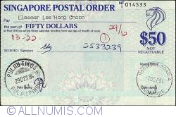 50 Dollars 1994 (3rd. of December).