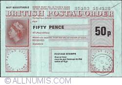 Imaginea #1 a 50 Pence 1978 (10th. of April).