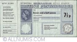 Imaginea #1 a 7-1/2 Pence 1975 (24 decembrie)