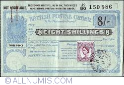 Imaginea #1 a 8 Shillings 1957 (10th. of October).